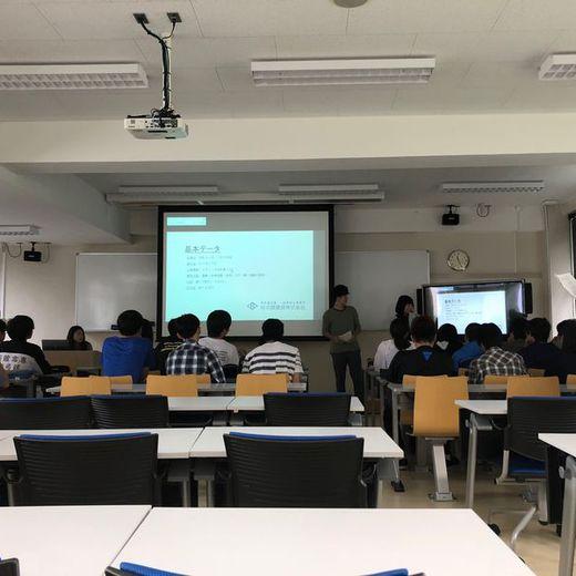 函館工業高等専門学校へ行ってきました
