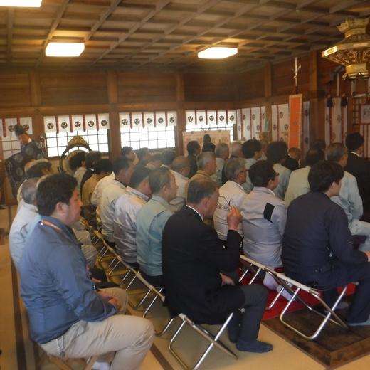 令和元年 紀の國建設株式会社 正栄会 安全祈願祭開催